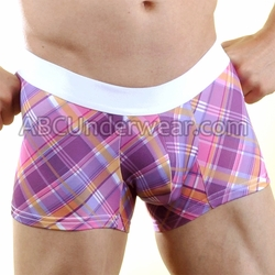 Sunset Plaid Microfiber Trunk