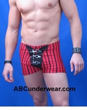 Swashbuckler Stripe Buckle Short