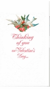 Thinking of you - Valentine's Card