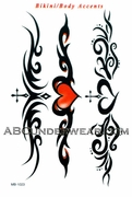 Tribal Accent Tattoos