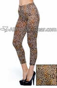 True Rock Cheetah Print Leggings