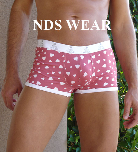 valentines day underwear for men heart love short clearance