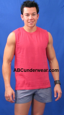 Vintage Look Muscle Shirt