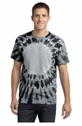 Window Tie Dye T-shirt Black