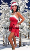 Women's Santa 4 Piece Set