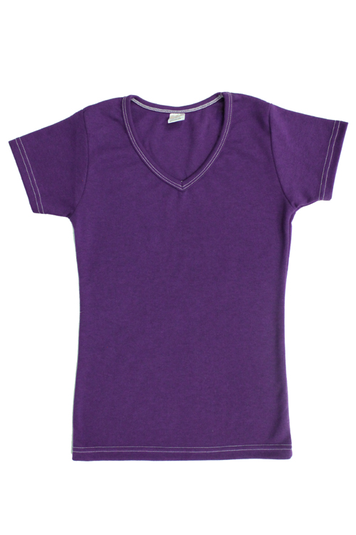 Lavender Shirt Womens