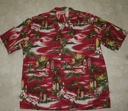 147 Hawaii shirt Red Beach M-2XL