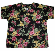 #36 Pink and Yellow flower <br>(100% cotton)