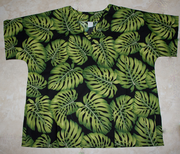 #43 Green leaf<br>(100% cotton)