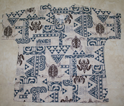 #47  Sea Turtle Tapa<br>(100% cotton)