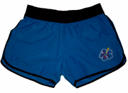 Elastic Girls /womens Boardshorts<br>Blue