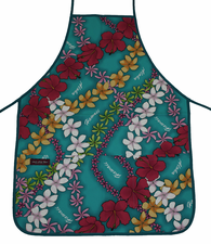 Hawaii Apron - Colorful Blue