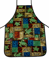 Hawaii Apron - Red Sea Turtle