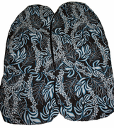 Hawaii car seat cover<br>12  Aqua blue <br>(quilted)