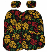 Hawaii car seat cover<br>Separated Headrest, Rasta