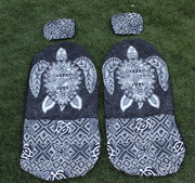 Hawaii car seat cover<br>46 Big Gray Turtle<br> (quilted)