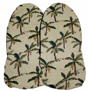 Hawaii Seat Cover<br> #102 Yellow Banana tree<br> (Non-quilted)