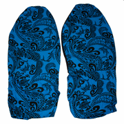 Hawaii Seat Cover<br> #102 Blue Black Tapa<br> (Non-quilted)