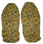 Hawaii Seat Cover<br> #116 Yellow Pineapple (Non-quilted)