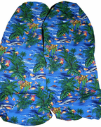 Hawaii Seat Cover<br> 147  Island reef<br> (Non-quilted)