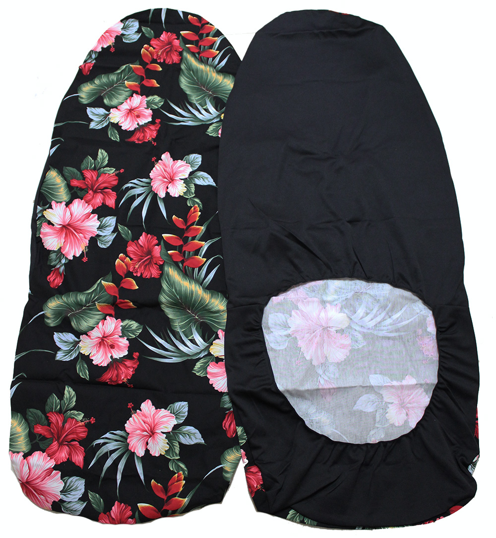 Hawaii seat cover hibiscus flower hawaiian car seat covers click hawaiian car seat cover black hibiscus flower izmirmasajfo