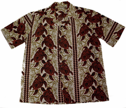 Hawaiian Party Shirt <br>#4 Red Turtle, L-XL