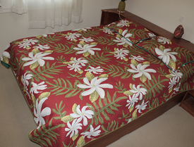 Hawaiian Patchwork Quilt