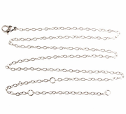 Stainless Steel 20 Inches Chain Necklaces