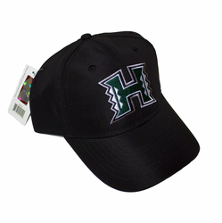 UH Warriors hats<br>Black