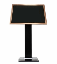 "Acesonic 21.5"" Rose Gold Touch Screen with Floor Stand"