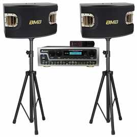 """Acesonic AM-450 800W Amplifier with BMB CSV-900 12"""", 3-Way Bass-Reflex Speakers"""