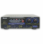 "Acesonic AM-828 500-Watt Karaoke Mixing Amplifier with USB, BBE and Vocal Elimination <font color=""ff0000""><b>Open Box</b></font>"