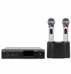 Acesonic IWM-360S Dual Infrared Wireless Microphone System