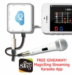 Acesonic Sing n Jam Karaoke Mixer for iOS & Android Devices