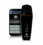 Acesonic Sing n Share Pro Portable Microphone for iOS (Black)