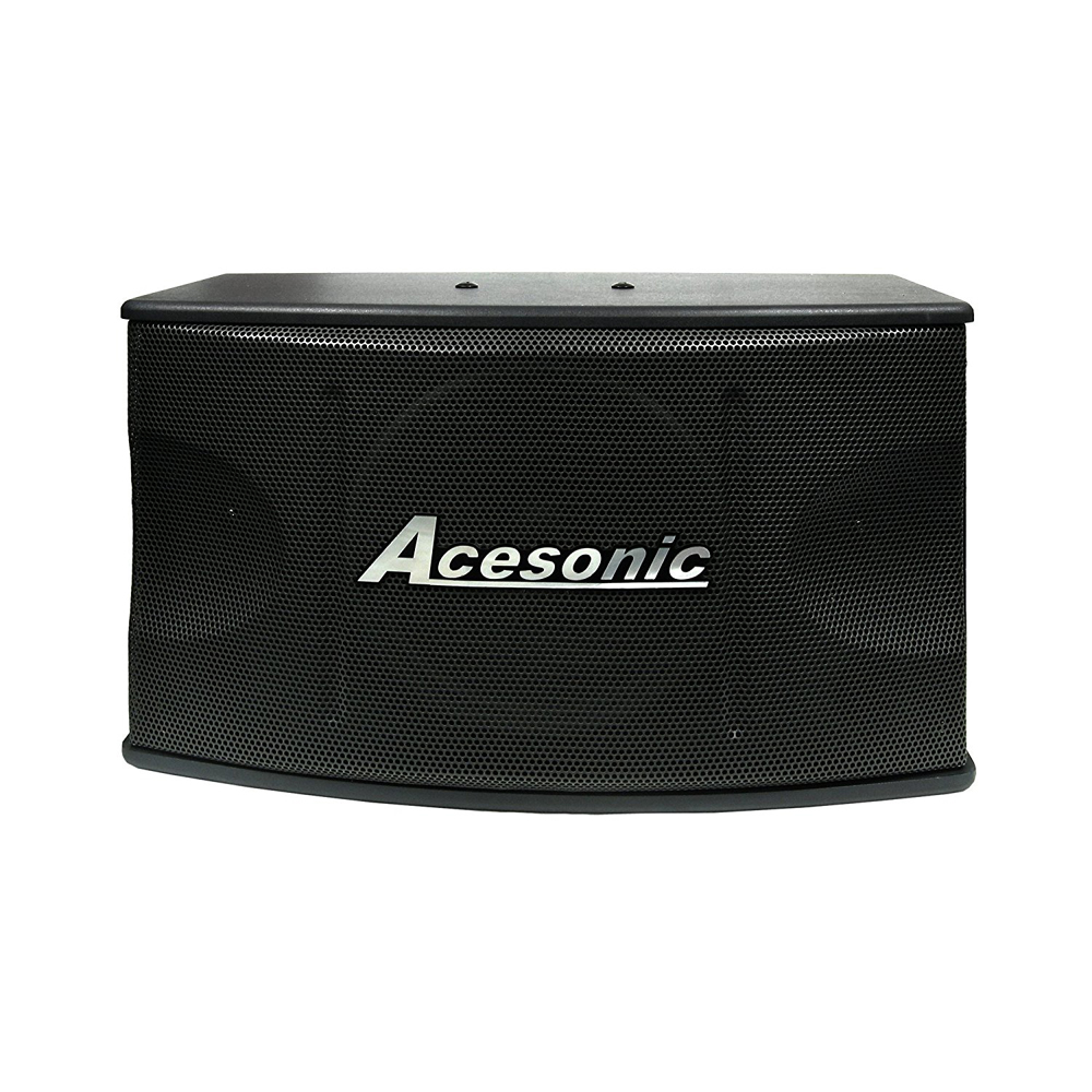 Acesonic Sp 450 300w Professional Vocal Speakers Stands Pair Midrange Coustic Ca 300 Mid