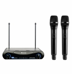 Acesonic UHF-200 Dual Wireless Microphone System - <font color=&quote;ff0000&quote;><b>Open Box</b></font>