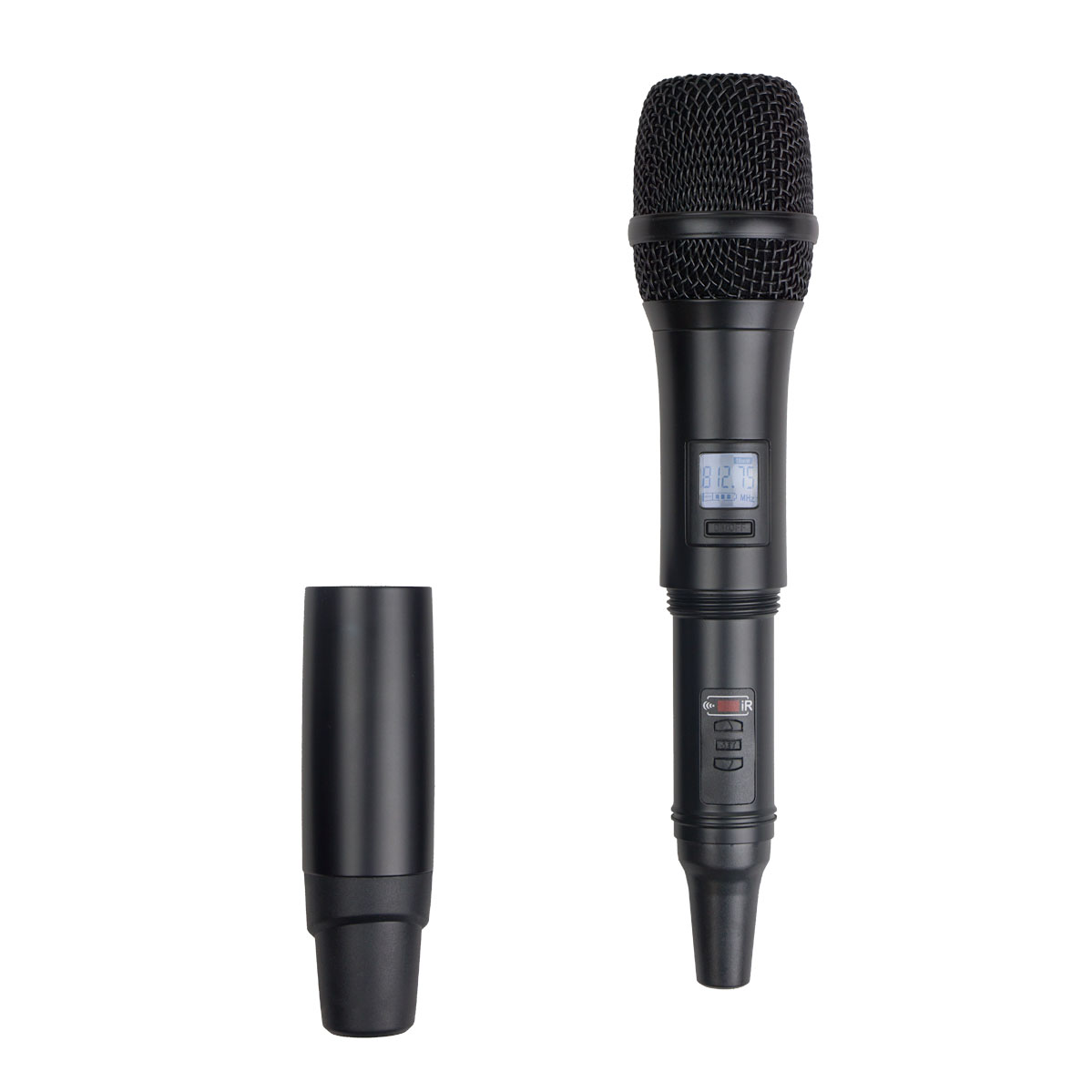 acesonic uhf 5800 dual wireless microphone with ir sync. Black Bedroom Furniture Sets. Home Design Ideas