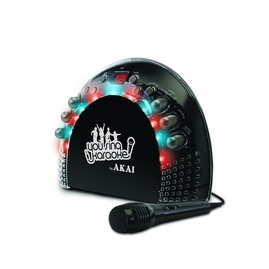 "Akai KS-201 CDG Portable Karaoke Player with Light Effects -<font color=""ff0000""><b>Open Box</b></font>"