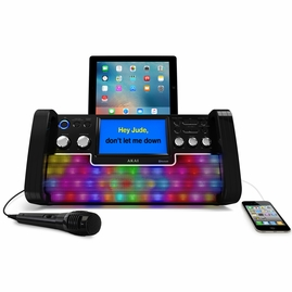 Akai KS780-BT Bluetooth/CDG Karaoke System with Lights