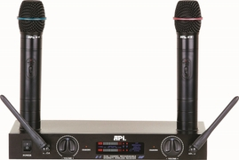 API U9 UHF Rechargeable Dual Diversity Microphone System