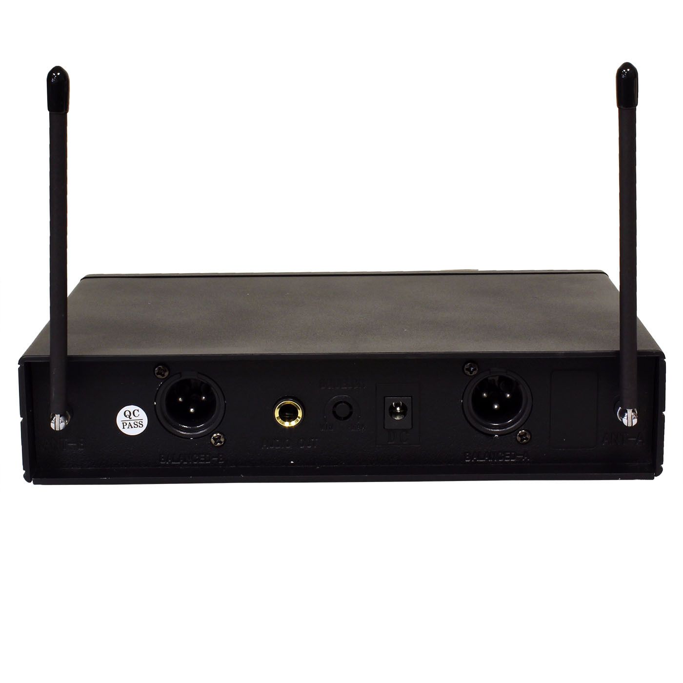 atny at 30 ht uhf dual wireless microphone system. Black Bedroom Furniture Sets. Home Design Ideas