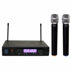 ATNY AT-30 HT UHF Dual Wireless Microphone System