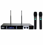 ATNY AT-80 HT UHF Dual Wireless Microphone System
