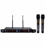 ATNY AT-90 HT UHF Dual Wireless Microphone System