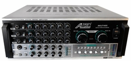 "Audio 2000 AKJ7405 Karaoke Mixing Amplifier with Digital Echo and Key Control -<font color=""ff0000""><b>Open Box</b></font>"