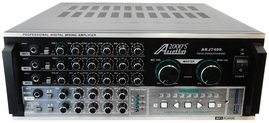 "Audio 2000 AKJ7406 Karaoke Mixing Amplifier with Digital Echo and Key Control - <font color=""ff0000""><b>Open Box</b></font>"