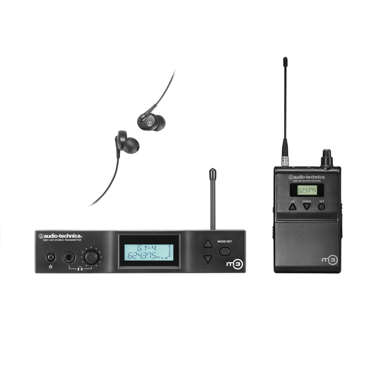 audio technica m3 wireless in ear monitor system. Black Bedroom Furniture Sets. Home Design Ideas