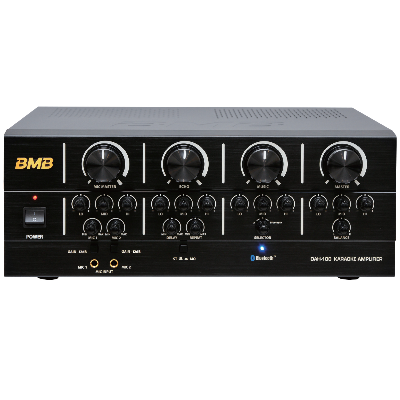 Bmb Advanced Package 200w Bluetooth Amplifier With Vocal Speakers Subwoofer