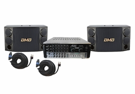 BMB CSD-880 1000W with AKJ7406 Mixing Amplifier